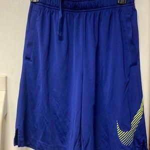 Nike Dri-fit shorts blue